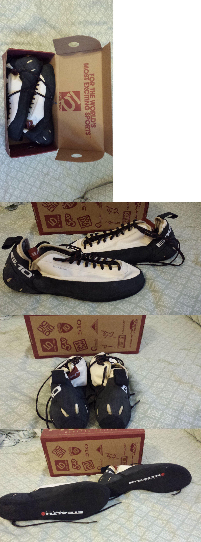 Men New Five Ten Anasazi Blanco Rock Climbing Shoe Size