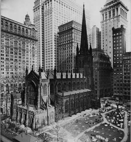trinity church anchor of wall street new york s landlord on wall street news id=34903
