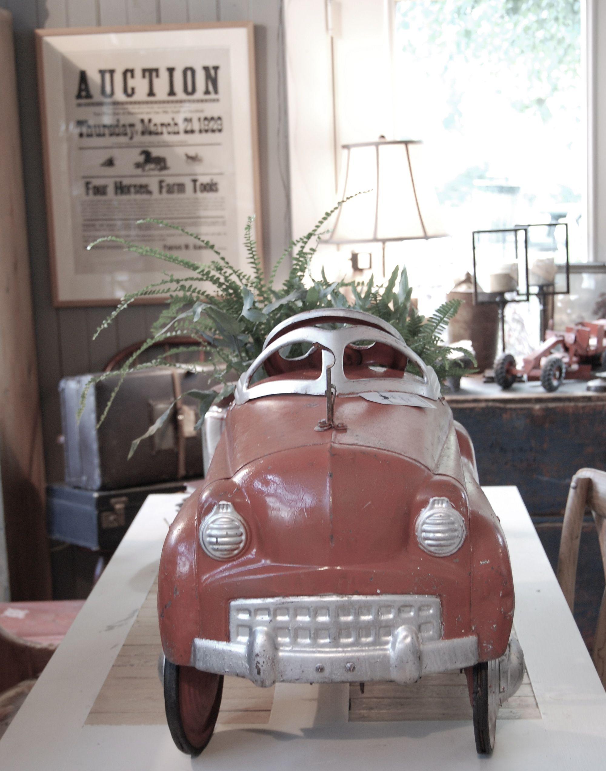 1950 S Toy Peddle Car Toy Garage Toy Car Garage Garage Design