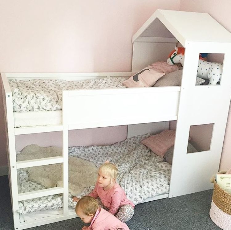 ikea kura hack kinderzimmer pinterest kinderzimmer kinderbett und bett. Black Bedroom Furniture Sets. Home Design Ideas