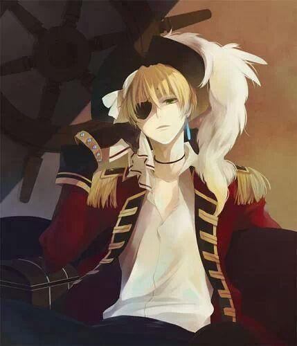 #pirate!england  #hetalia