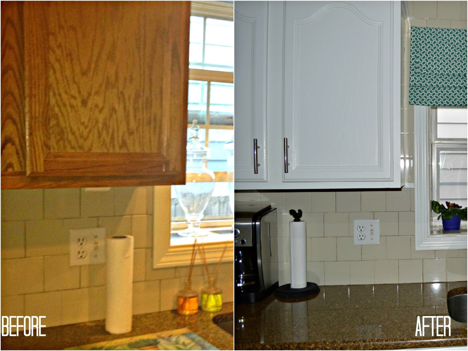 Kitchen cabinet refacing before and after in refacing for Reface kitchen cabinets ideas