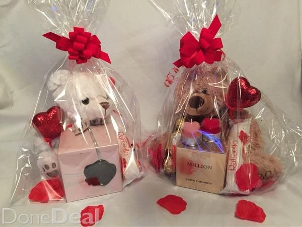 Valentines Day Hampers With Her Favourite Perfumefor Sale In Dublin On Donedeal Valentine Gift Baskets Valentines Day Baskets Valentine S Day Gift Baskets