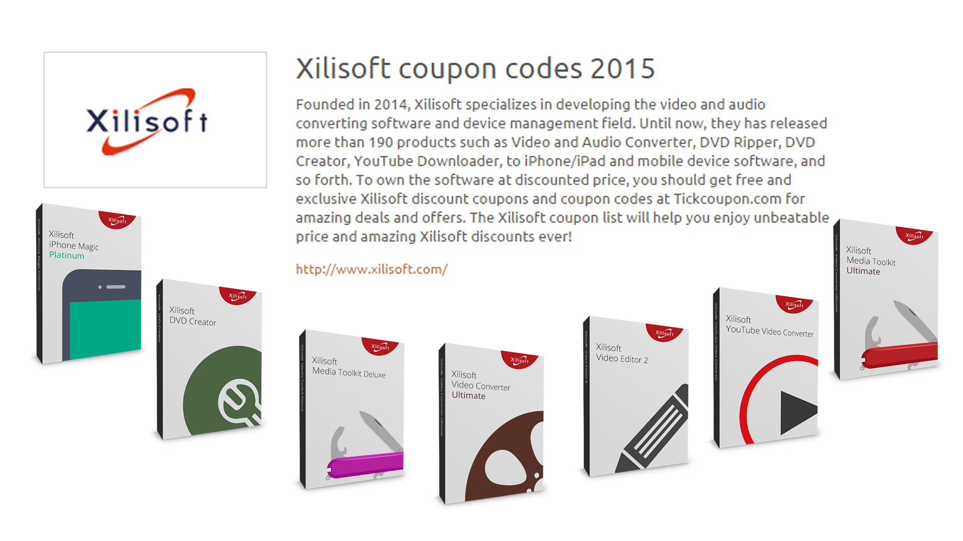 Xilisoft Corporation Founded In 2004 Has Released More Than 190 Excellent  Products Ranging From Video And