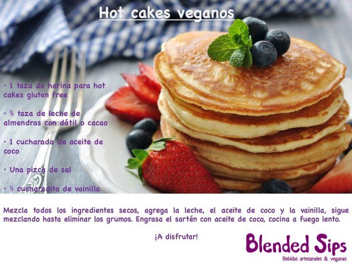 Hot Cakes Veganos De Banana