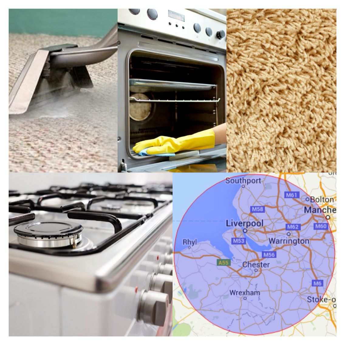 """Chef clean oven and carpet cleaning specialist in North west England, book now for December to have your oven and/or carpets """"SPARKLING"""" for the festive season"""