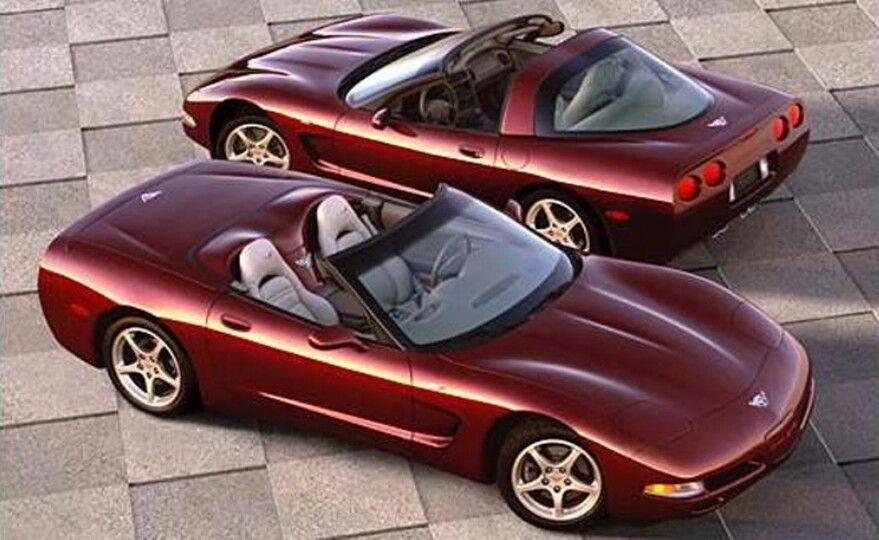 2003 50th Anniversary Edition T Top Convertible Corvette 2003 Corvette Chevy Corvette