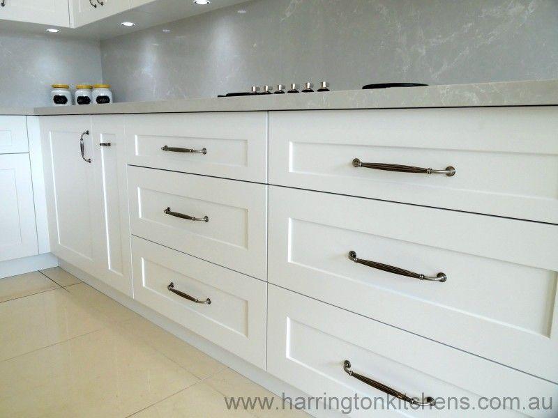 White Kitchen Drawers hamptons style kitchens | hampton style kitchen gallery