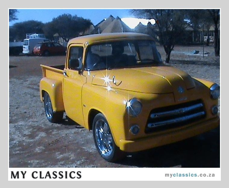 1953 Dodge Pick up classic car