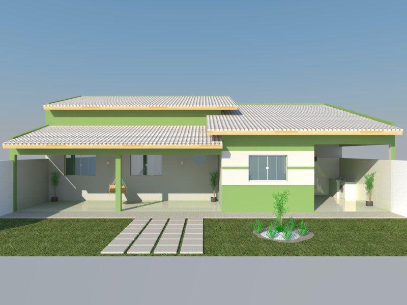 1 Jpg 800 600 Edicula Com 2 Quartos Modelos De Casas Simples