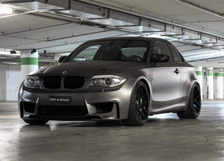 Bmw E82 1m Coupe Grey With Images Bmw 1 Series Bmw