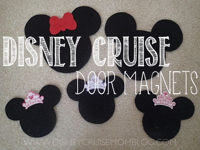 Disney Cruise Door Magnets See How I Made Quick Amp Easy