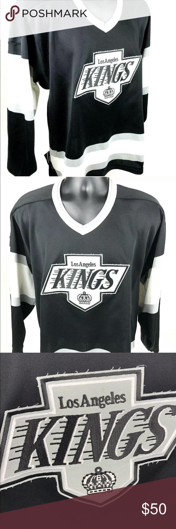 Vintage 90 Los Angeles La Kings Ccm Hockey Jersey Ccm Hockey Hockey Jersey La Kings