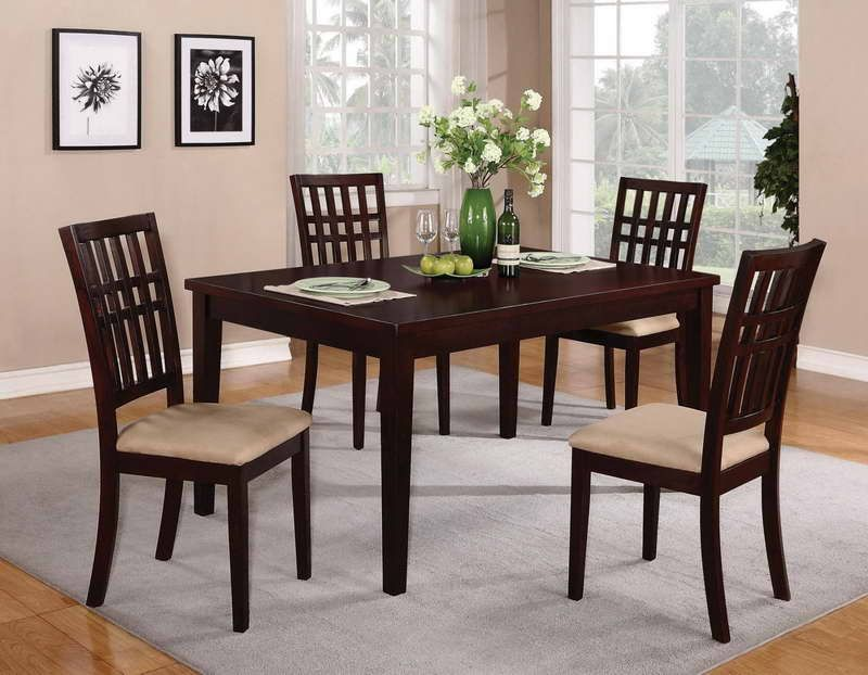 Contemporary Dining Room Table Sets – Expandable Dining Table Sets for the Sake of Novelty Trending - Minimalist cheap dining table and chairs set Photos