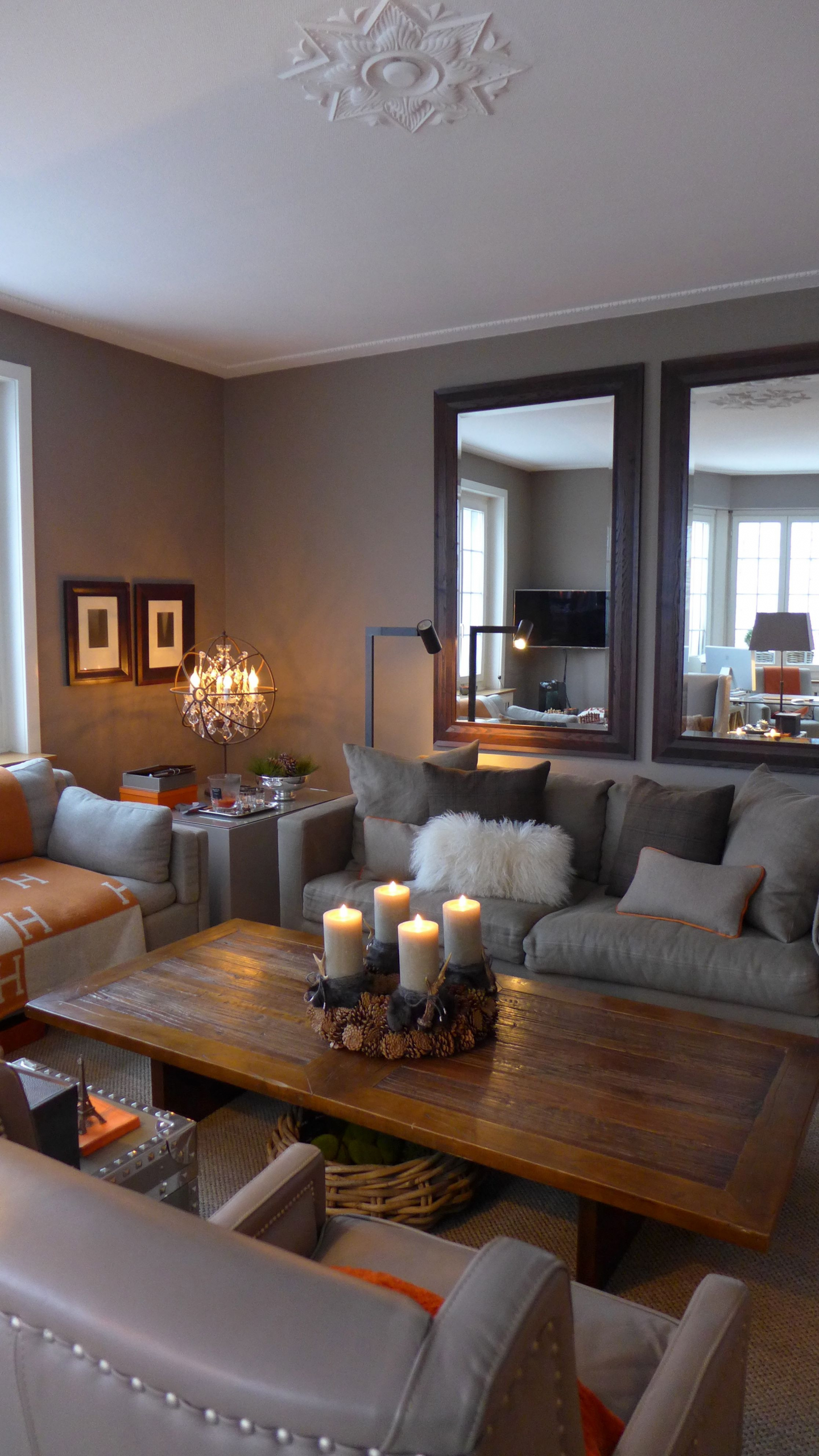 Pin On Bedrooms #warm #grey #living #room