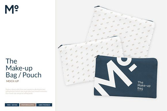 Download The Make Up Bag Mock Up Pouch By Mesmeriseme Pro On Creativemarket Makeup Bag Pouch Bags