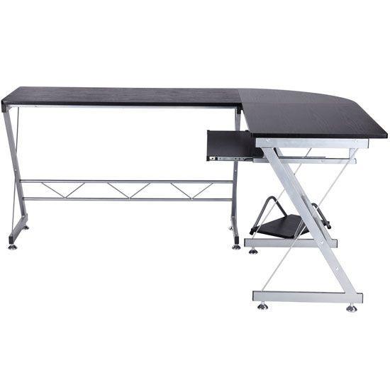 Bureau d\u0027informatique angle pour ordinateur meuble table de travail