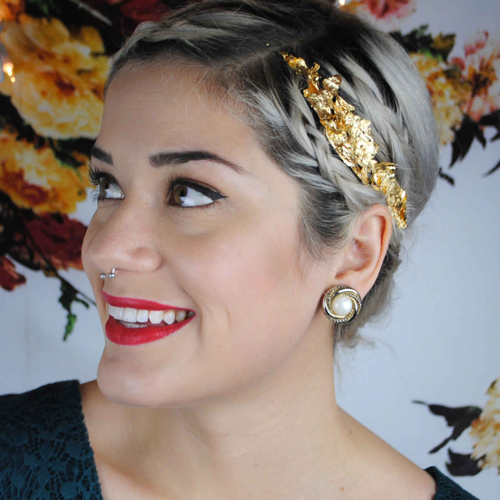 3 Unexpectedly Easy Ways To Wear Gold In Your Hair You can be a