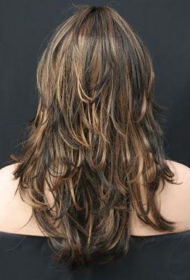 Corte de pelo picado en capas