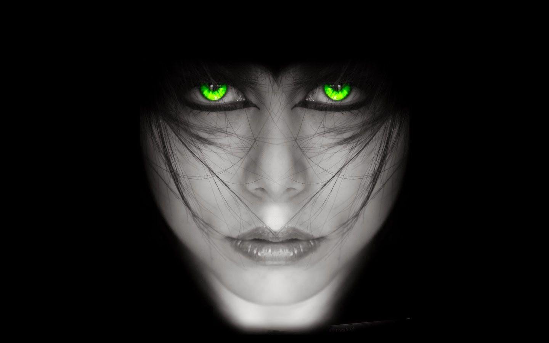 Black Girls with Green Eyes