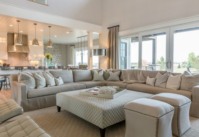 Neutral Living Roomsophisticated But Comfy Living Room Featuring Captivating Big Living Room Designs Inspiration Design