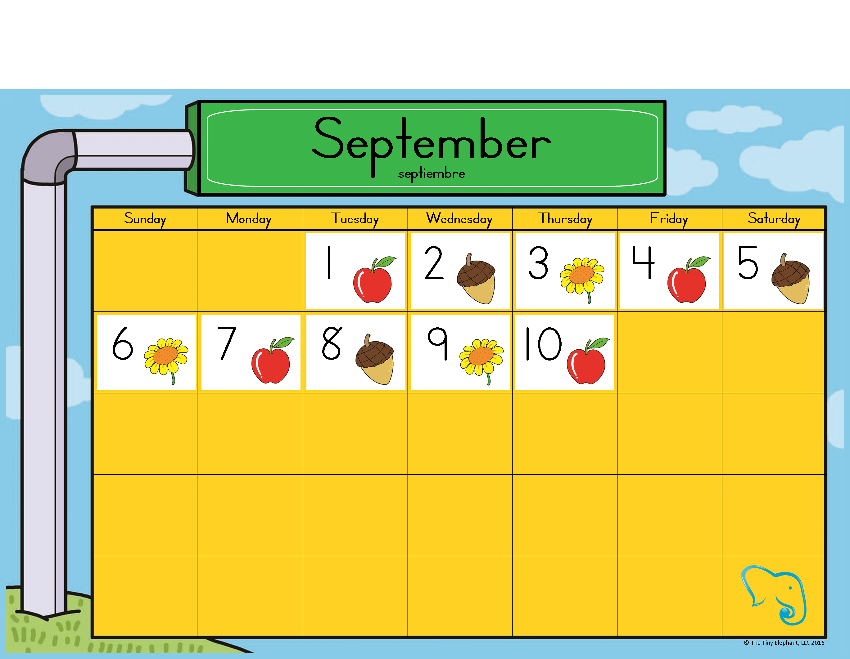 Using The Calendar During Circle Time Will Help Teach Concepts Such