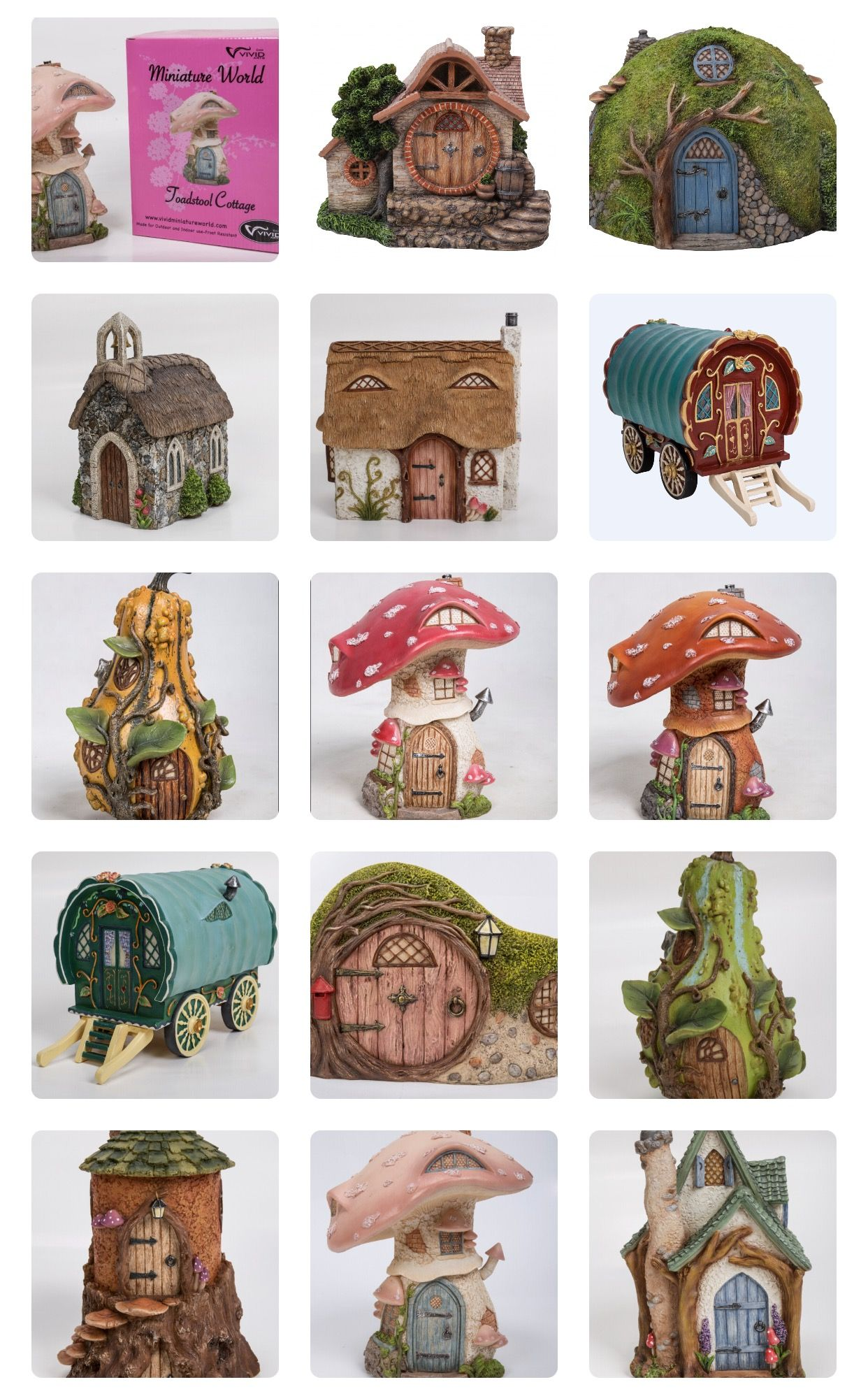Fairy Garden Items From Miniature World By Arts In The U K
