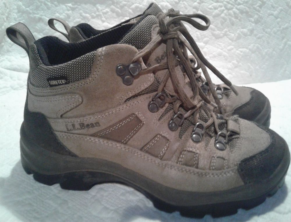 8be4d40c007 LL Bean Gore Tex Hiking Boots Outdoor Winter Made in Italy Womens ...