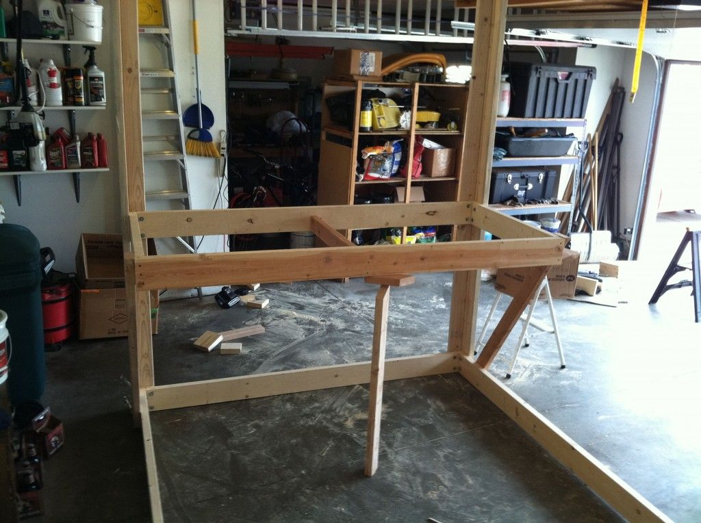 How To Build The Ultimate Hanging Loft Bed College loft