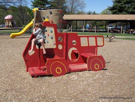 Van Dyck Park Fairfax City Playground Areas Park Van