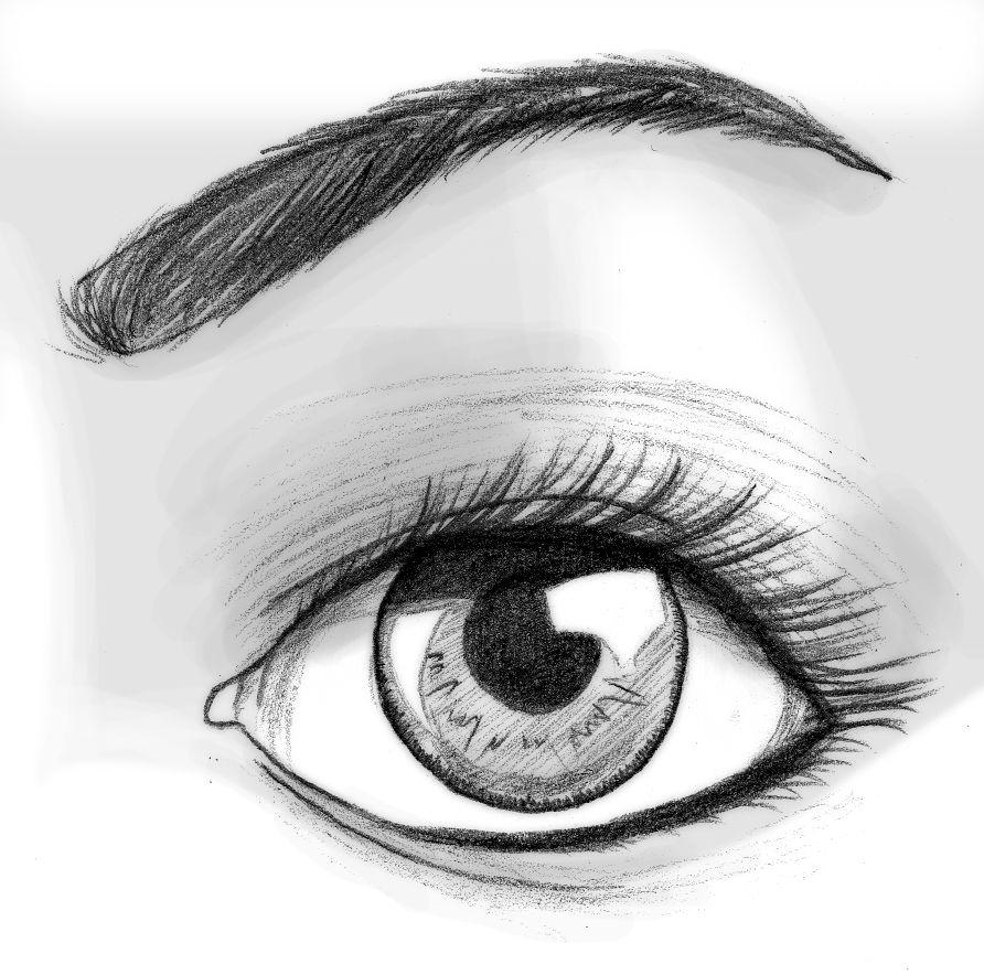 Cómo dibujar un ojo realista y PESTAÑAS!! Paso a Paso | Videos ...