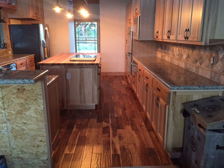 Hickory Butcher Block Countertop In 2020 Butcher Block