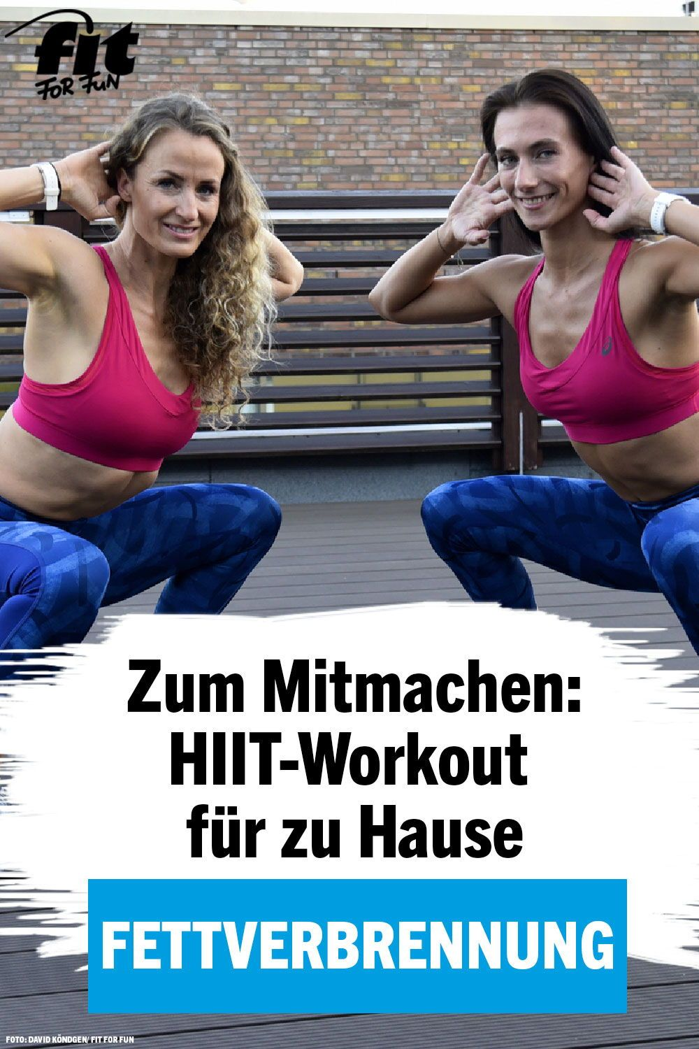 HIIT-Training in 11 Minuten: Das Fatburning-Workout ohne Geräte – FIT FOR FUN