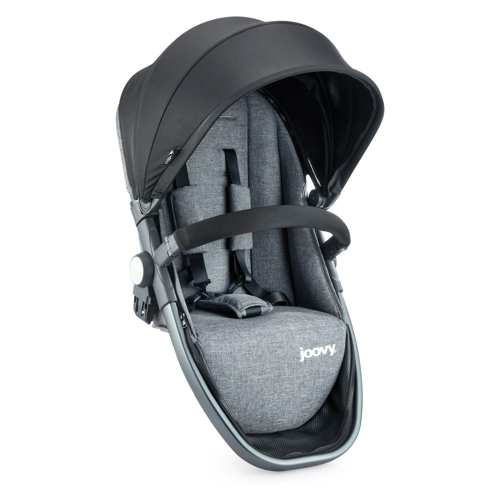Joovy Qool Second Seat Gray Melange Stroller cover