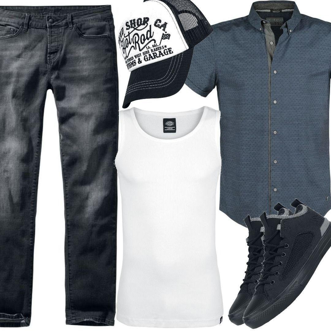 Brandit Dayton Jacke Outfit für Herren zum Nachshoppen auf