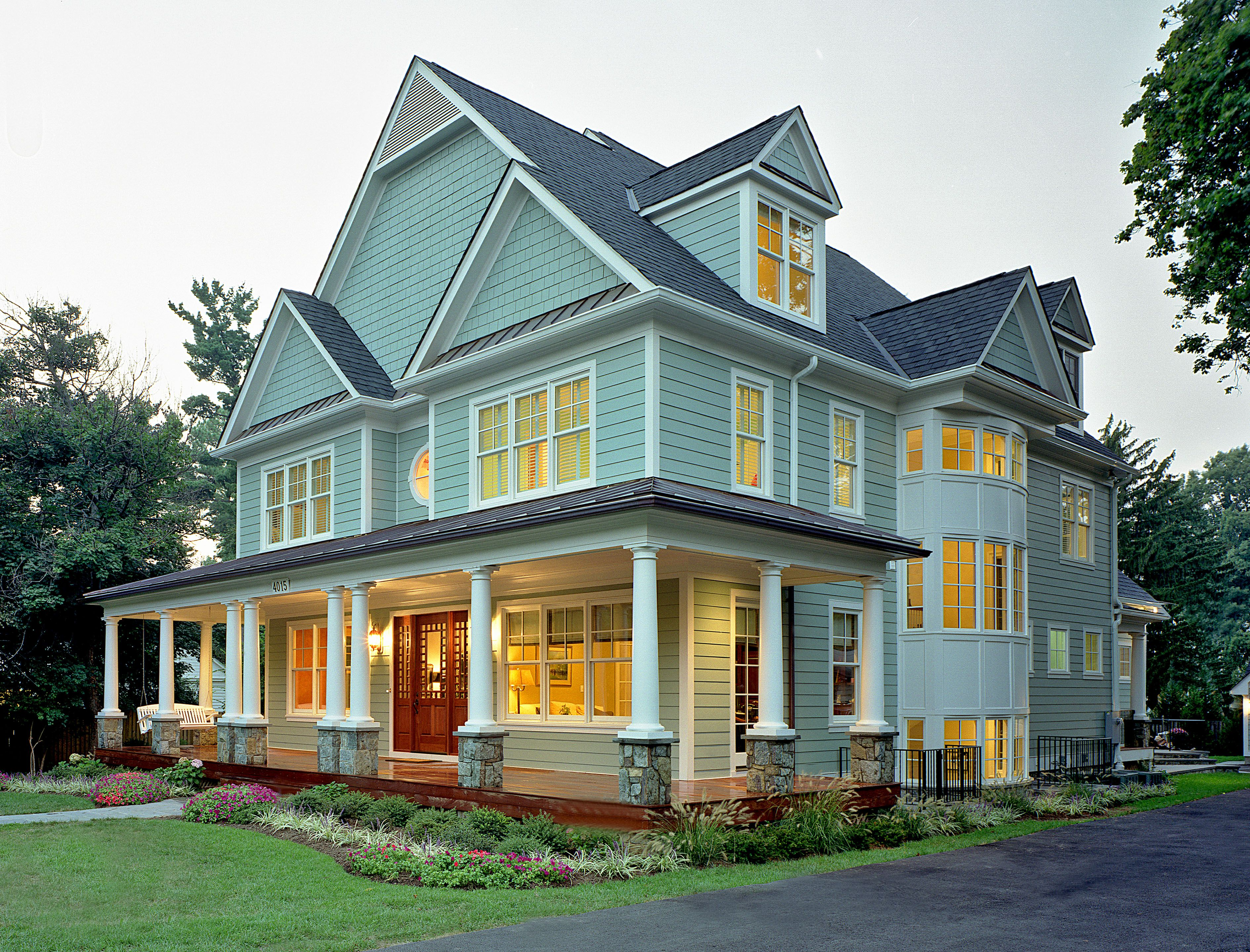 25 Great Farmhouse Exterior Design Ideas | Modern ...