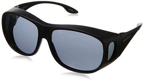995d85fa4b4 Solar Shield Fits Over Sunglasses Classic Elm Square L BlkGry     Click  image for