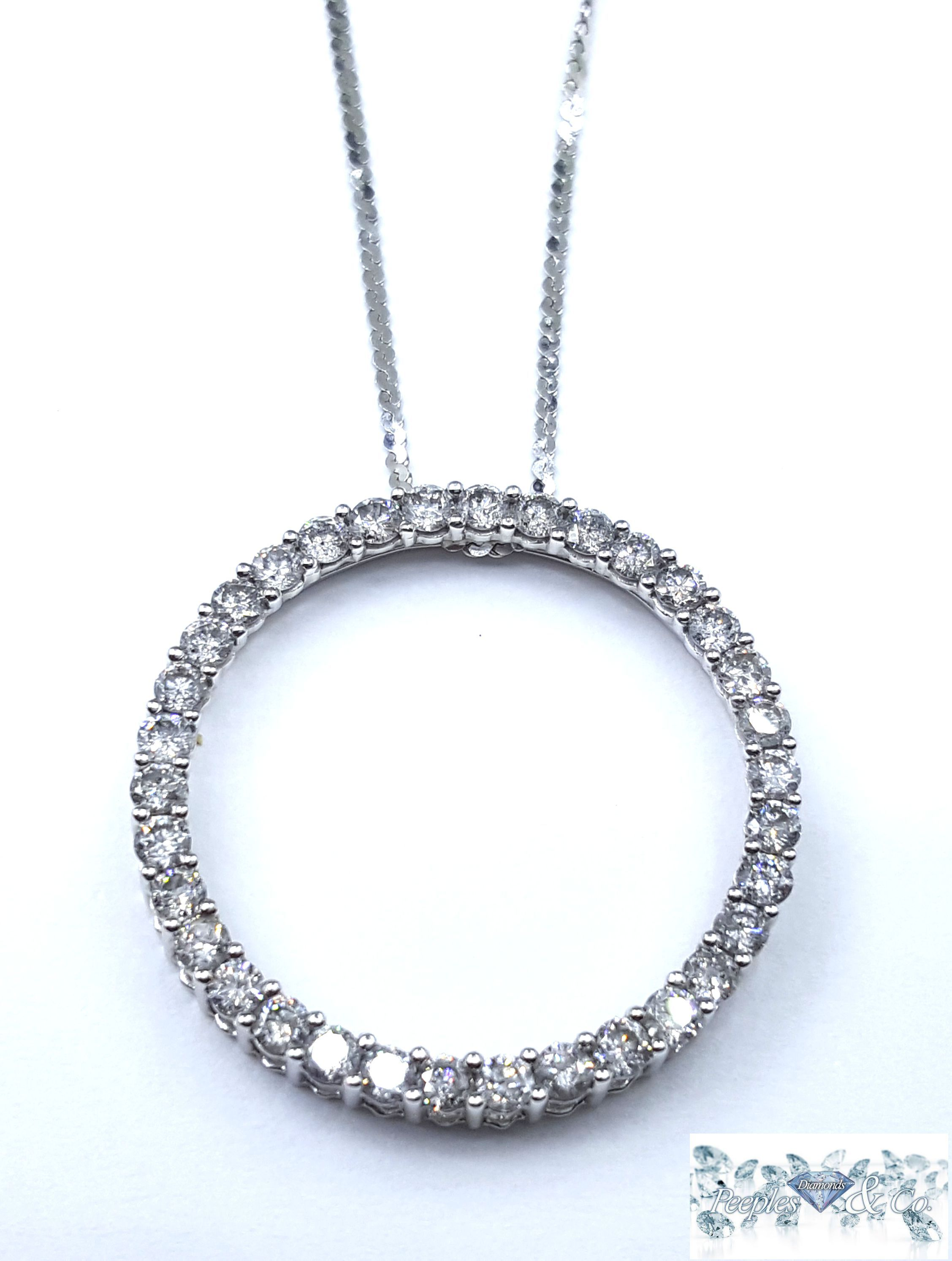 Cut: Round Brilliant  Carat: 2.45  Color: H-I  Clarity: SI1/SI2  Grams:6.3  Metal Purity:14Karat White Gold        Type:Pendant/Chain Price:$2,800.00 100% Natural earth mined diamond I do not sell enhanced diamonds  Ships out in an elegant jewelry box for your pleasure