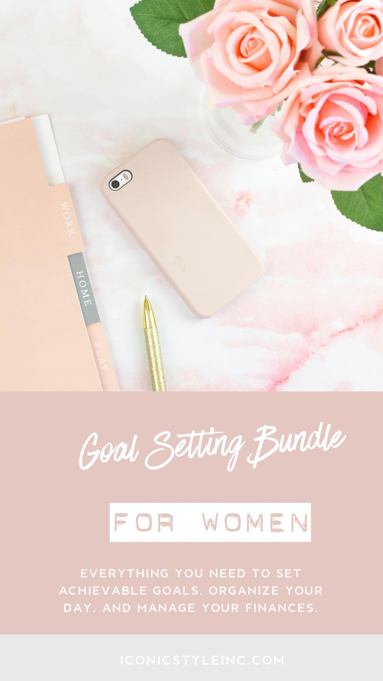 The Goal Setting Bundle For Women Entrepreneurs In