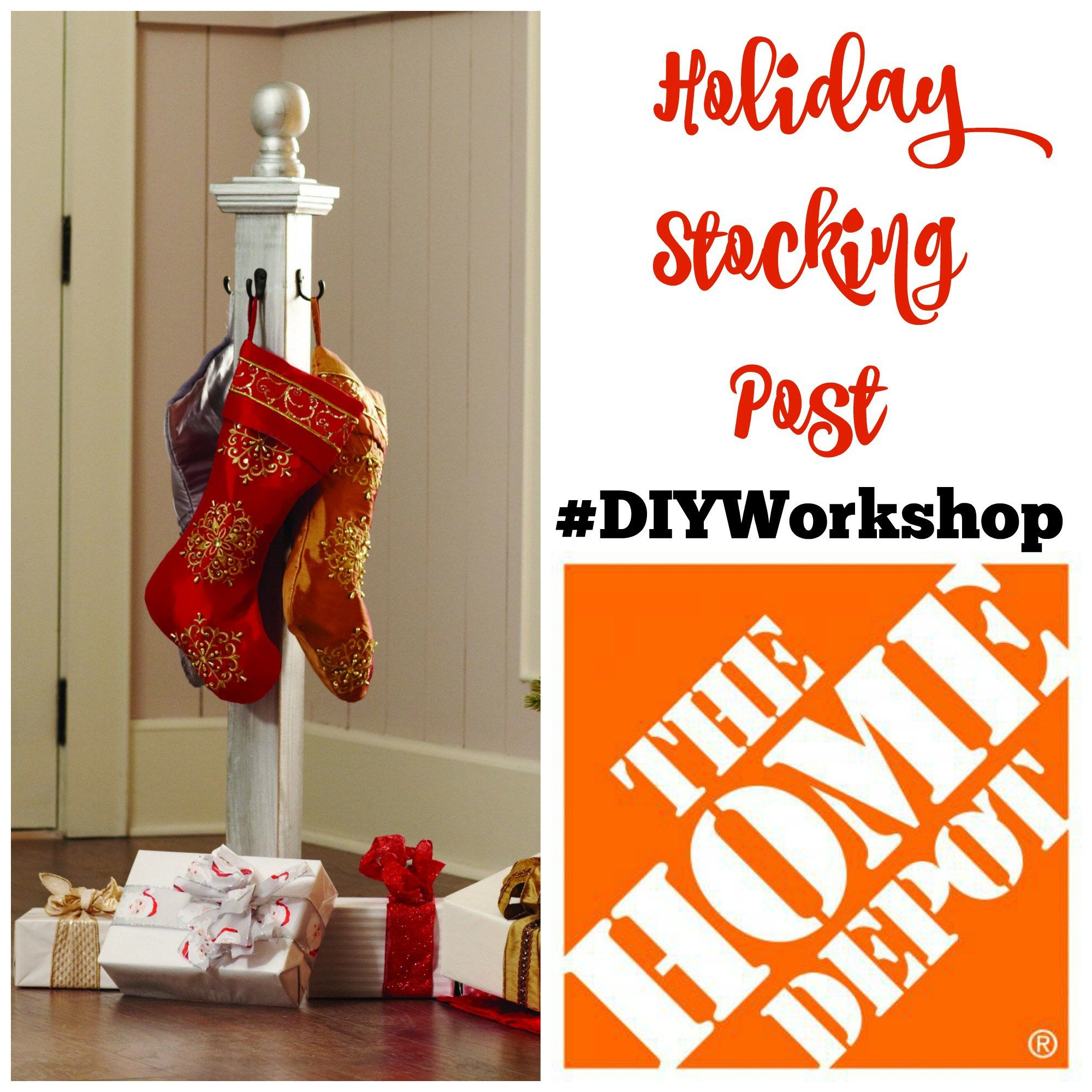 How to Build a Christmas Stocking Holder Stocking