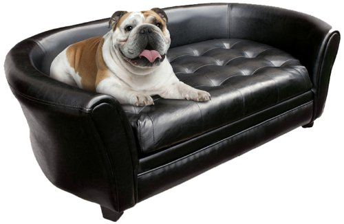 Amazon Com Wiggle Pounce Tufted Dog Couch Sofa Bed Large