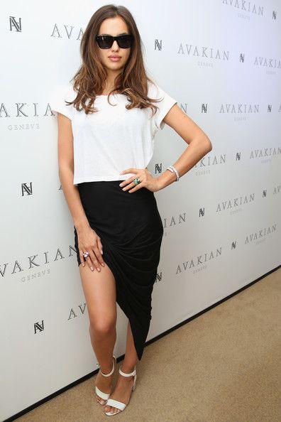 fff59e3c7aa Irina Shayk Evening Sandals - Irina Shayk Heels Looks - StyleBistro