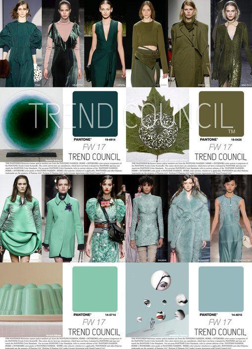 farbpalette gr n t rkis trend council key fashion color fw17 fashion farbpaletten. Black Bedroom Furniture Sets. Home Design Ideas