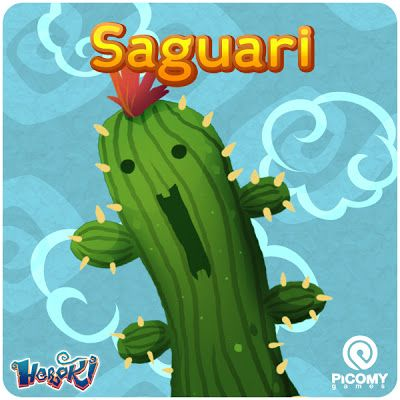 Picomy Games: Heroki Cards - Saguari & Prickly