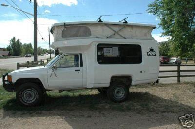 Toyota bandit  | 4x4s + | Toyota camper, Toyota
