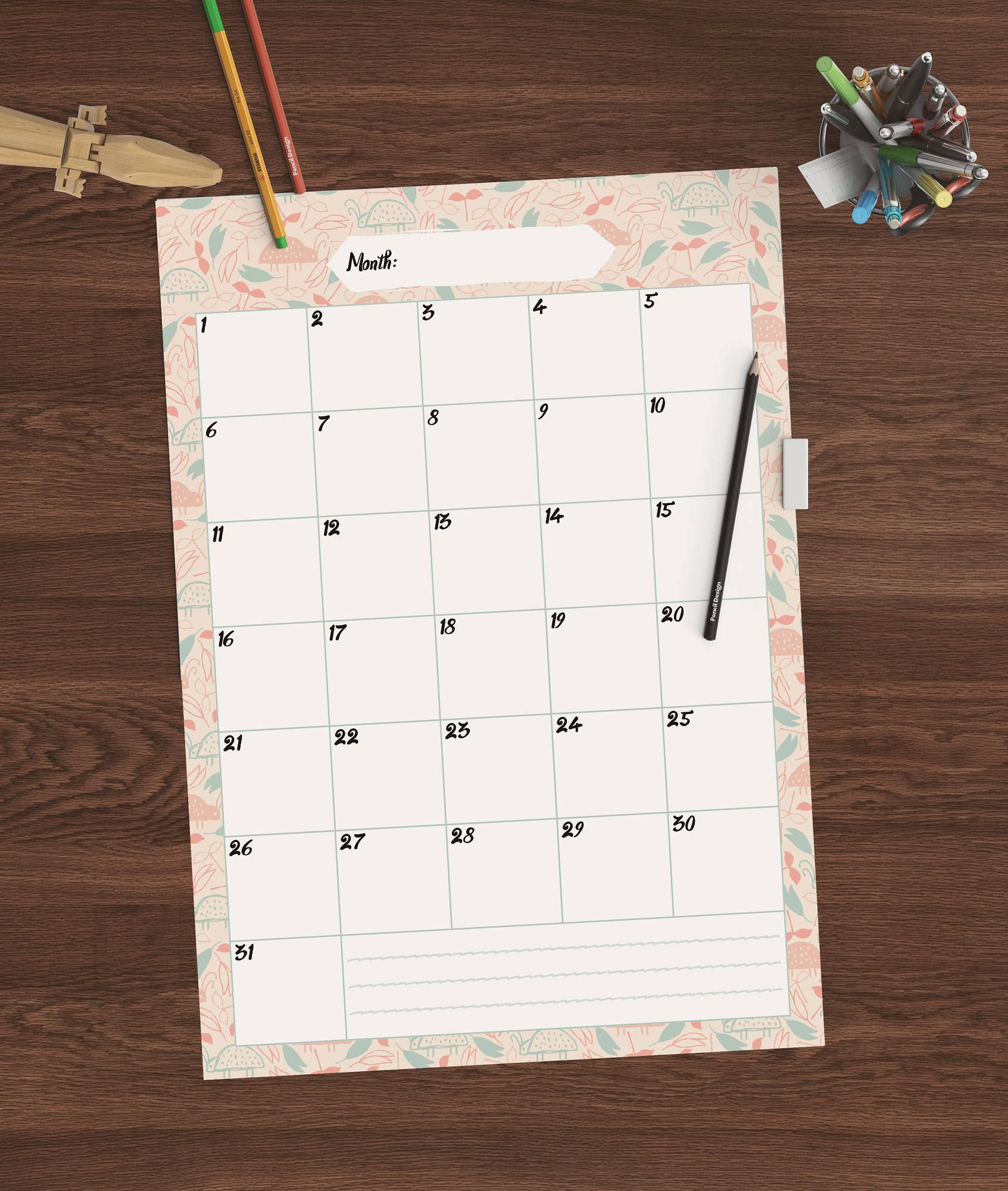 back to school printable student planner family monthly planner