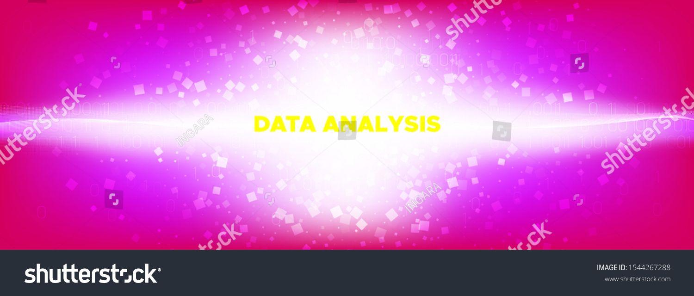 Pink Flow Particle Pattern Matrix Digits Shine Technology Wallpaper Big Data Stream Shiny Glow Binary Background Technology Wallpaper Royalty Free Pattern