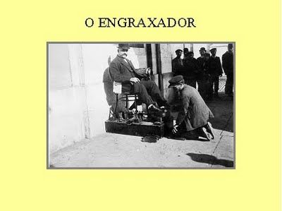 -: Antigas Profissões de Lisboa-o engraixador