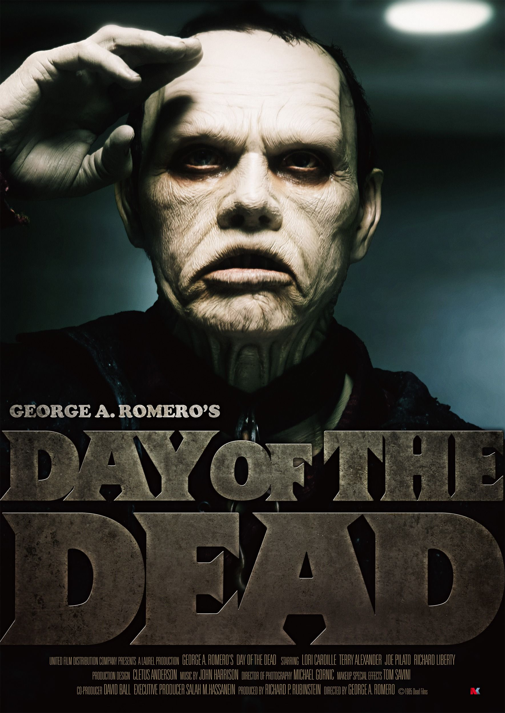 Day of the Dead (1985) The dead movie, Classic horror