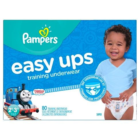 866a9b055155f Pampers Easy Up Thomas   Friends Training Pants 2T-3T (74ct) -Boys   Target